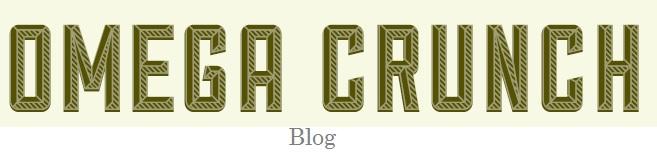 Omega Crunch Blog